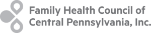 Family Health Council of Central Pennsylvania Grey Logo