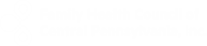Family Health Council of Central PA - logo white
